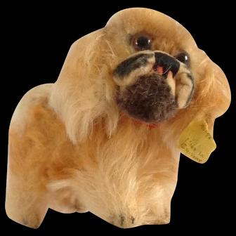 STEIFF Smallest Pekinese Peky Puppy with ID