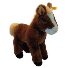 STEIFF Large FERDY Pony, with id