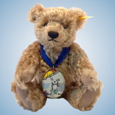 STEIFF Teddy Bear Plymouth, 25 CM (approx 10in), MINT Condition