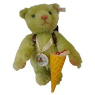 Steiff Club Bear, School Beginner Bear all lDs