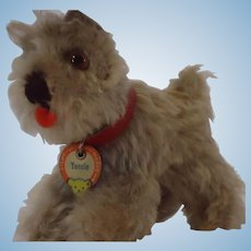 STEIFF Smallest Tessie Schnauzer with Chest Tag