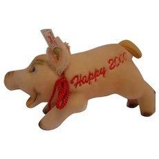 Steiff Celebration LUCKY PIG 2000, 18 CM