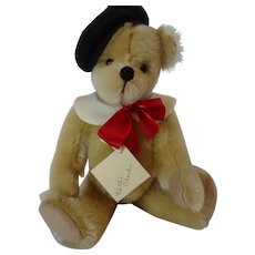 """UFDC """"Francois"""" Mohair Bear by Kathi Clarke, 10 inches"""