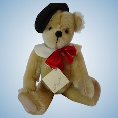 "UFDC ""Francois"" Mohair Bear by Kathi Clarke, 10 inches"