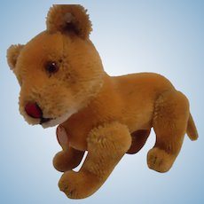STEIFF 12 CM Loewen Mama Lioness with ID, button and chest tag