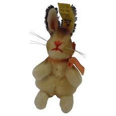 STEIFF 10CM smallest Manni Rabbit w/ID
