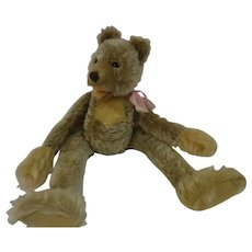 STEIFF RARE Zotty, Zolac dangling bear with button