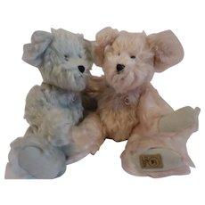 Limited Edition Boyd's Mohair bears, 10 inches ea.