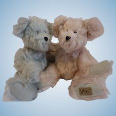 Limited Edition Boyd's Mohair bears, 10 inches ea.