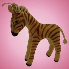 Steiff's smallest Velvet Zebra