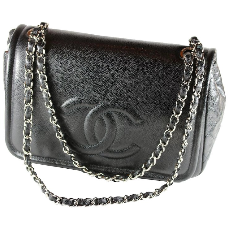 Chanel Black Flap Purse