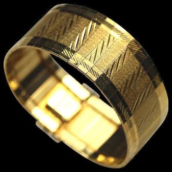 BREV. Heavy 18K Gold Bracelet