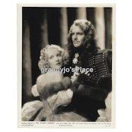 Marlene Dietrich & John Lodge Photograph RARE Original 1934