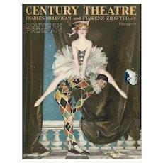 Century Theatre Program Leyendecker Cover, Ziegfeld Raphael Kirchner, Rare 1916