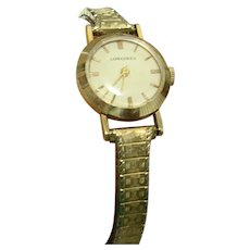 Longines Ladies 10k Gold Filled Wind Up Watch 1940's/50's