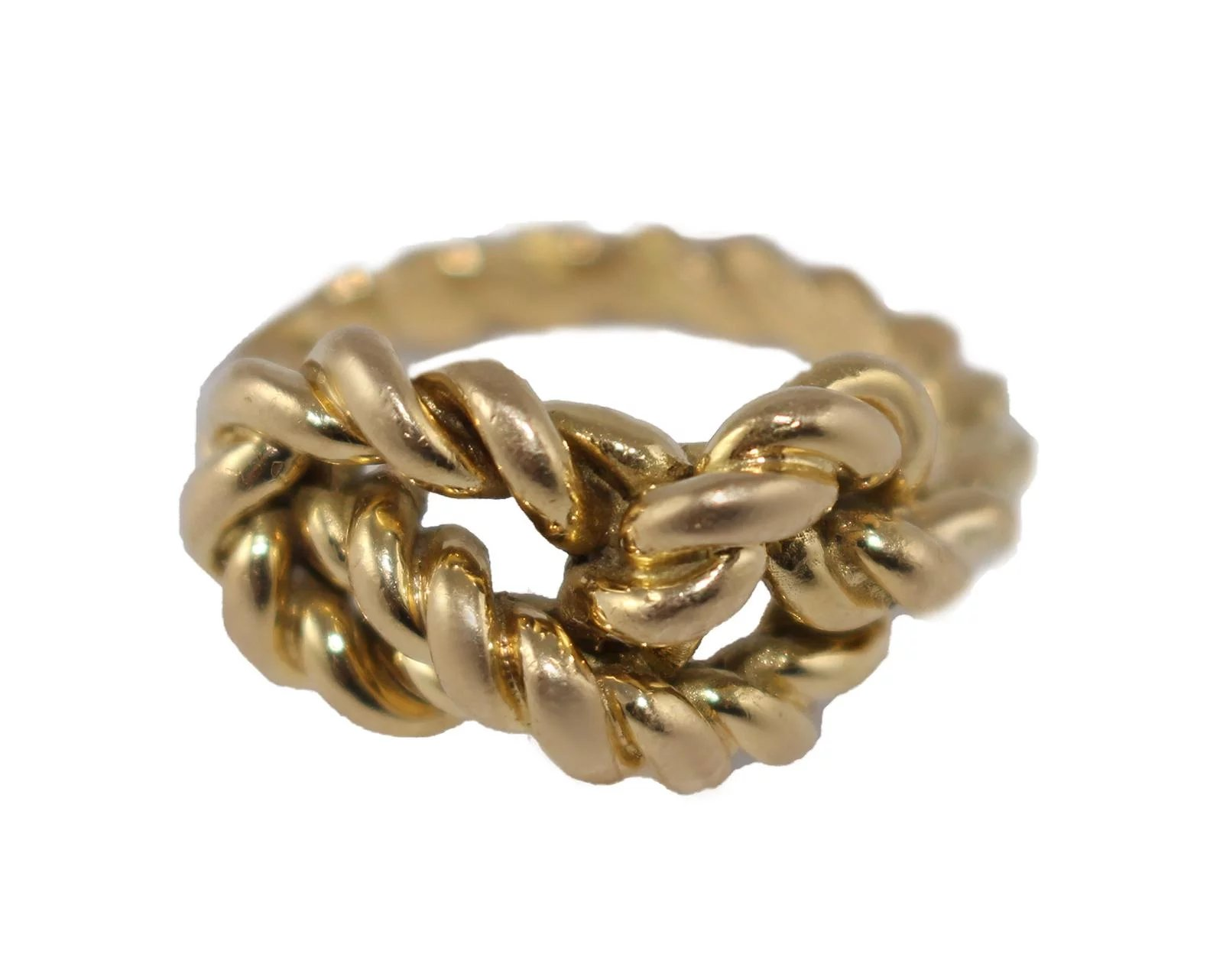 24b173162 18k Gold Gucci Braided Love Knot Ring : Olympic Gold And Jewelry ...