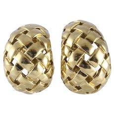Tiffany & Co. 18k Gold Earrings