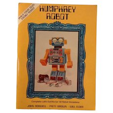 Vintage Humphrey Robot Punch Out Activity Book 1983 Totally Unpunched First Edition Addison-Wesley Publishing Co