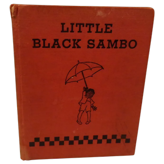 Vintage Little Black Sambo Book M. A. Donohue Company Rare Classic Book
