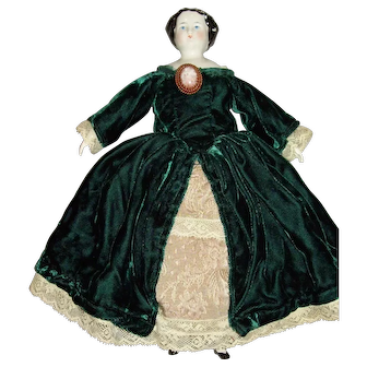 China head doll 1800s