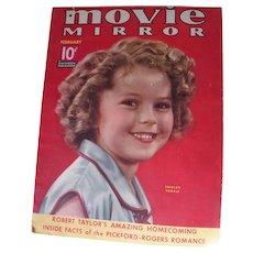 Movie Mirror magazine Feb. 1937 - SHIRLEY TEMPLE