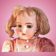 """SIMON & HALBIG 1079 Doll - German Bisque 20"""" Doll"""