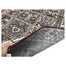 6x9 PERSIAN RUG HAND KNOTTED ANTIQUE IRAN WOOL RUGS brown baktiar area carpet woven oriental tribal