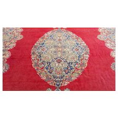 10x15 Persian rug Iran rugs HAND KNOTTED ANTIQUE LAVAR KERMAN handmade oversize palace size woven made 10x16 9x15 ft