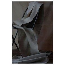 Antique European Hemp Textile - Homespun Hand Loomed Cloth / Fabric Bolt