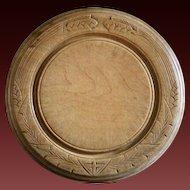 Antique English Carved Breadboard - Wooden Bread Board