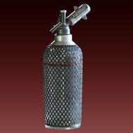 Vintage 1930s English SPARKLET Soda Syphon Seltzer Bottle