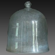 Antique French Garden Cloche - Bell Glass Jar #2