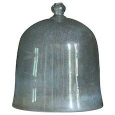 Antique French Garden Cloche - Bell Glass Jar #2