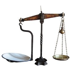 Antique English W & T Avery Shop Keeper's Balance Scales