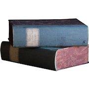 19th Century Italian Archive Filing Boxes - Antique Portfolio Document Box