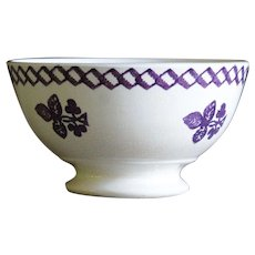 19th Century Irish Spongeware Bowl