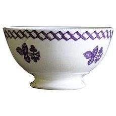19th Century Irish Spongeware Bowl