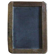 Antique Childs SMALL Slate Chalkboard - Chalk Board