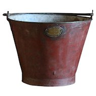 Antique English Sand Fire Bucket