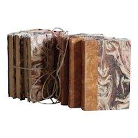 Decorative French Book Bundles - Vintage Book Parcels