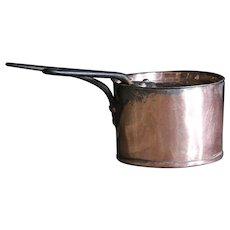 Antique SMALL French / English Copper Saucepan