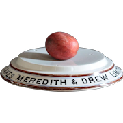 Antique English Meredith & Drew Cake Stand