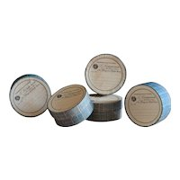 Antique French Chemist Pill Boxes