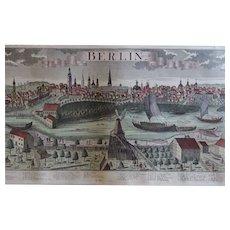 Antique Berlin Map