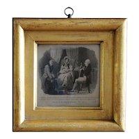 "Antique English Engraved Print - R. Ackermann ""Merry Memoranda"""