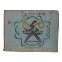 1900s Vintage German Children's Illustrated Book Osterbuch (Hasenbuch)
