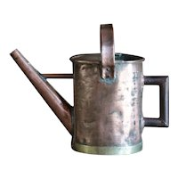 LARGE 19th Century Antique English Copper Watering Can