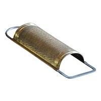 Antique German Brass Metal Grater