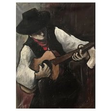 Gypsy Guitar player from the South of France