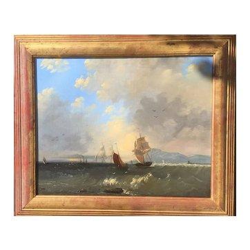 19th Century Marine/Seascape painting
